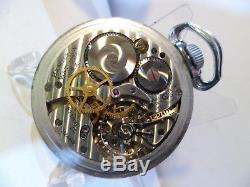 Hamilton GCT 22j WWII 4992B Military AN-5740 Army Pocket Watch Original box! WW2