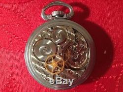 Hamilton GCT 22j WWII 4992B Military Army Navigation Pocket Watch