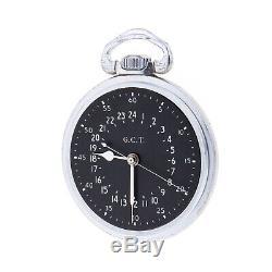 Hamilton GCT Pocket Watch Navigation Master 4992B Military Grade