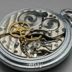 Hamilton Gct 4992B Ww2 U. S. Military Pocket Watch 1942