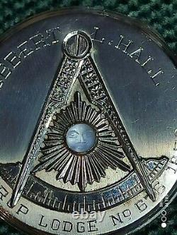Hamilton Gold Plated Masonic Pocket Watch 17Jewels