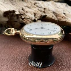 Hamilton Grade 925 Model 2 18S 17J Pocket Watch Circa 1912 Lever Set