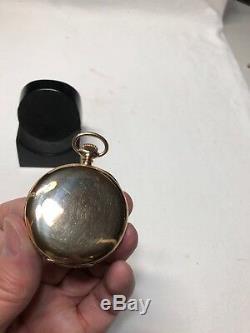 Hamilton Grade 975 Pocket Watch With 14k Gold Hunter Case