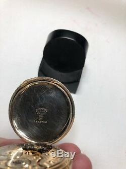 Hamilton Grade 991 Pocket Watch One Star Rarity-only 2,520 Made