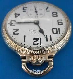 Hamilton Grade 992, Size16 Railway Special Pocket Watch. FREE PRIORITY SHIPPING