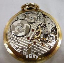Hamilton Grade 992b Model 5 16s 21 J 1951 Railroad Pocket Watch Excellent Look