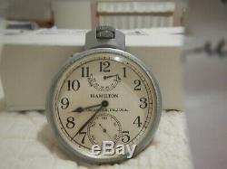 Hamilton Model 22 U S Navy Chronometer Original, Accurate and Beautiful