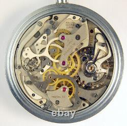 Hamilton Model 23 19 Jewel 16s World War II Military Chronograph Pocket Watch
