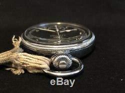 Hamilton Model 23 Military Chronograph 19j. Runs