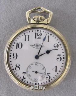 Hamilton, Official Railroad Standard Pocket Watch 10k. G. F. Size 16s, 23 Jewels