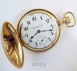 Hamilton Peninsular Special 17j 18s Scarce Electric Railway Pocket Watch