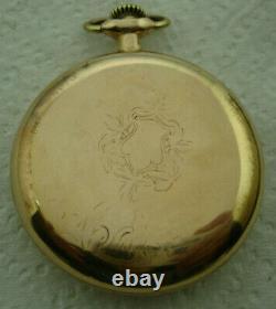 Hamilton Pocket Watch, 16 Size, 19j, Grade 996, Vintage 1919, Rr Grade, Serviced