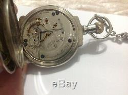 Hamilton Pocket Watch 19 Century, Working, Amazing Conservation