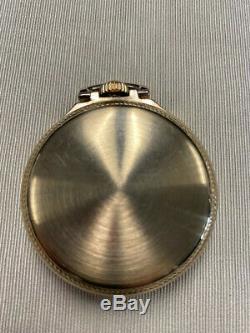 Hamilton Pocket Watch 992B (Serial #C201675) circa 1946. Excellent Condition