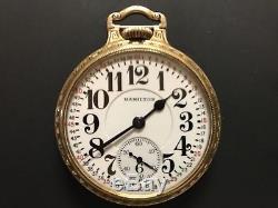 Hamilton Pocket Watch 992E (Elinvar)
