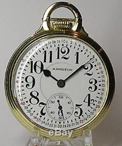 Hamilton Pocket Watch Grade 992E in Model 10 Case