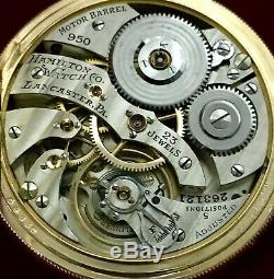 Hamilton RR 950E LS 23J ELINVAR AMAZING! From Watchmaker Collection