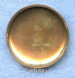 Hamilton Railroad 21 Jewel Gold Filled Pocket Watch Runs