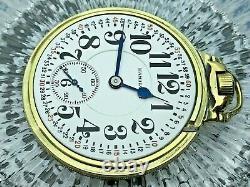 Hamilton Railroad 992 Model 2 Pocket Watch 16S 21J. Montgomery Dial SERVICED