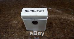 Hamilton Railroad Pocket Watch Case only great art deco style