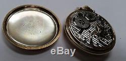 Hamilton Railway Special 950B Railroad Pocket Watch. Vintage. 10k Gold