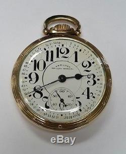 Hamilton Railway Special 950B Railroad Pocket Watch. Vintage. 10k Gold Filled