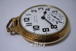 Hamilton Railway Special 992B Pocket Watch 21 jewel Working 1944