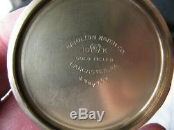 Hamilton Railway Special 992b 16s Montgomery Dial Pocket Watch