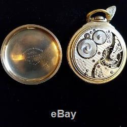 Hamilton Railway Special Officer's Issue model 992b Pocket watch