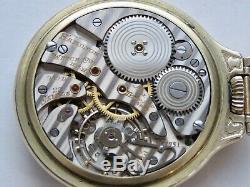 Hamilton Railway Special Pocket Watch 950b 23 Jewel Case Model 17 Bar Over Crown