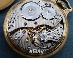 Hamilton Railway Special Pocket Watch 992B 16s 1947