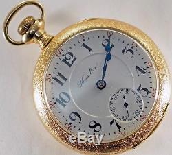 Hamilton Size 18 Twenty One Jewels Pocket Watch