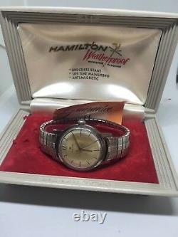 Hamilton Stainless Steel Watch, Original Box