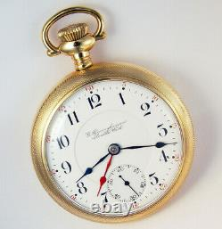 Hamilton Time Ball Special For Rr Service 17j 18s Extremely Rare Pocket Watch