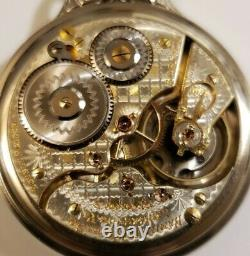 Hamilton VERY RARE 16S. 21J. 992 two-tone adjusted for railroad service dial