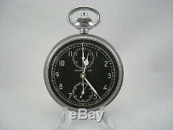 Hamilton WW2 Model 23 Military Chronograph Watch