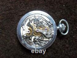 Hamilton WWII. Model 23 Chronograph, 19J. 16 Size, Beautiful Timepiece L@@K