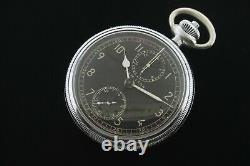 Hamilton WWII Model 23 Military Chronograph Pocket Watch