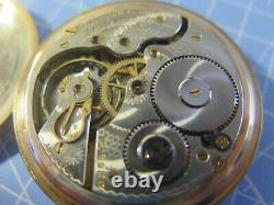 Hamilton Watch Co, Lancaster PA 1911 Railroad pocket watch, 17 jewels, with nice
