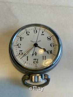 Hamilton military pocket watch navigation master watch 3992b 22JEWELS 992 white