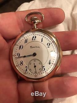 Hamilton pocket watch 950 23j! Ps
