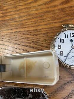 Hamilton pocket watch 992B Ivory Box