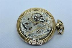 Highly Collectible and RARE HAMILTON 946, Engraved GF Case, 23 jewel, 18s, RUNS
