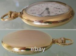 Howard 16s Monty dial no. 0 Pocket Watch 23 jewels 5 adj. Howard case 1112334