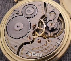 I11 Hamilton 992 16s 21j Antique 10K GF Railroad Pocket Watch GIFT QUALITY