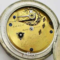 Keystone Lancaster Pa, Pre-Hamilton EXTREMELY RARE Coin Silver Key Win Key Set