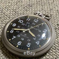 L. L. Bean X Hamilton Pocket Watch 1970 70's Vintage Model Men Accessory Rare F/s