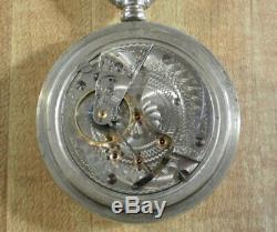 Large 1907 18size Hamilton 17jewel 926 Pocket Watch Runs good! L@@K