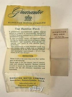 MUSEUM QUALITY 1959 Hamilton 992B Railway Special 16S 21J Railroad Pocket Watch