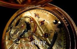 Mega Rare Antique Railroad 21J 18s Hamilton 941 Pocket Watch Mint Serviced